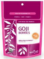 Navitas Naturals Gogi Berries are available in Whole Foods, Sprouts & other health food stores