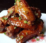 Asian Glazed wings