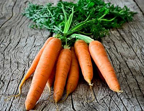 Carrots help with depression