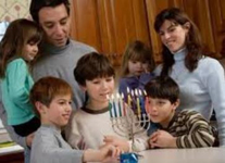 A large Jewish family