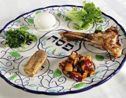 Seder Plate should be on your table before you start the seder