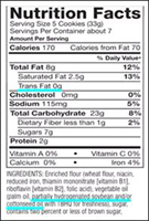 Says no trans fat but has it listed in ingredients