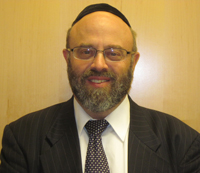 Rabbi Naftali Burnstein of the Young Israel of Greater Cleveland