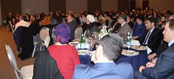 Large Banquet at Am Echad in San Jose