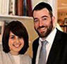 The shul has a new Rabbi - Rabbi Yaakov Tanenbaum is pictured with his wife Aliza