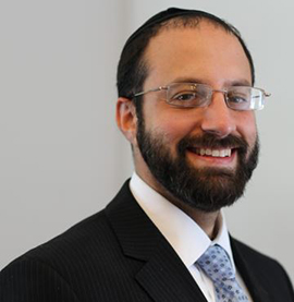 Rabbi Nachi Klein of Young Israel of Northridge