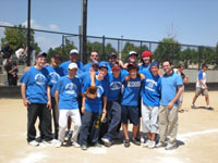 Baseball team from a shul in Denver, Colorado