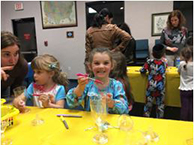 Kids at Young Israel Aish Las Vegas at an event