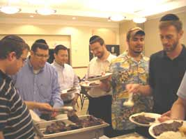 Men at a Ohr HaTorah activity