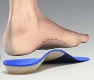 Orthotics are sometimes helpful for foot pain