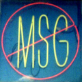 Even when the package says no MSG there may be hidden MSG