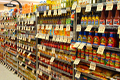 Kosher products section in a chain store