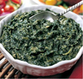 Spinach has a hefty portion of your daily allowance of magnesium