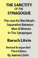 Sanctity of the Synagogue about separate seating in the synagogue & the landmark court case that changed orthodoxy in America